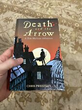 Signed 1st/1st Death And The Arrow A Tom Marlowe Adventure by Priestley Chris HC