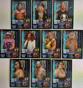 Topps WWE Slam Attax 2021  WWE LEGENDS Card Set of 10 Hogan - Savage .....