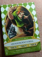 Disney Sorcerers of the Magic Kingdom Card 55 Quasimodo's Bell New