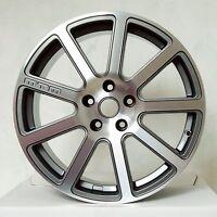 MTM Bimoto Felge 8x18 5x112 ET 35 Titan-Poliert Rad Alufelge Audi VW Seat Skoda