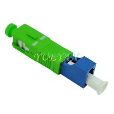 SC APC Male to LC PC Female Fiber Optic Hybrid Optical Adaptor