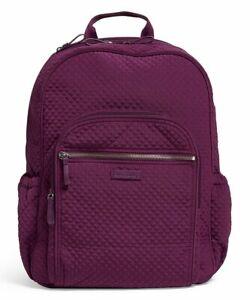 Vera Bradley Iconic Campus Gloxinia Purple Backpack