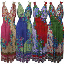 Lace V Neck Sleeveless Maxi Dresses for Women