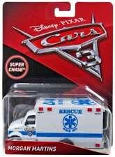 Disney Pixar Cars 3 Morgan Martins Super Chase Deluxe Die Cast - Ltd Edition