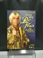 Nature Boy Ric Flair The Definitive Collection DVD 3 Disc Set WWE Wrestling Dvd