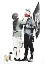 BANKSY impresión arte cartel Tamaño A3 (mother Love)