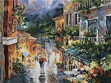 Counted Cross Stitch Kit RTO - THE EVENING CITY