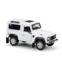 Welly 1:24 Land Rover Defender Diecast Model SUV Car White NEW IN BOX