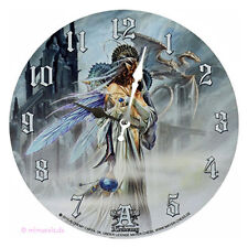Wanduhr Bilderuhr Uhr Deko - Bride of the Moon - Drache Braut Mond