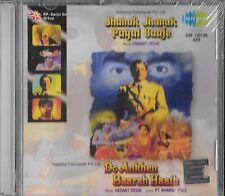 jhanak jhanak Payal baaje / DO ankhen baarah Hath - Bollywood 2film Song en 1cd