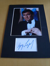 George Lazenby James Bond Genuine Signed Authentic Autograph - UACC / AFTAL.
