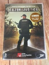 NEW Cajun Justice 3 Discs Over 7 Hours of Viewing DVD Sealed