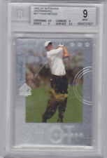 New listing 2001 SP AUTHENTIC GOLF TIGER WOODS ROOKIE SHOTMAKERS S-1 BECKETT GRADED MINT 9
