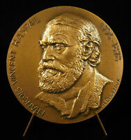 Medal François-vincent Raspail Chemist Botanist Homme Political Cytochimie