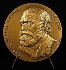 Médaille François-Vincent Raspail chimiste botaniste homme politique cytochimie