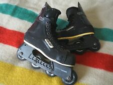 BAUER NHL Off Ice Inline Skates Hockey Roller Blades Black Canada US Mens 9