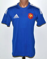 FRANCE NATIONAL TEAM 2014/2015 HOME RUGBY UNION SHIRT JERSEY ADIDAS SIZE S ADULT