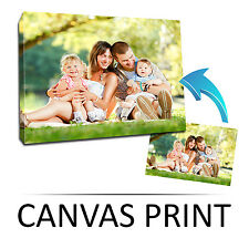 """Custom A1 LARGE 20x30"""" CANVAS Print, Your PHOTO/PICTURE Frame Personalised"""