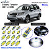 8 Bulbs LED Interior Dome Light Kit Cool White For 2013-2018 Subaru Forester