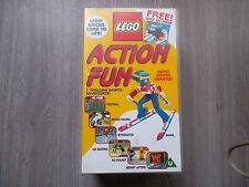 Lego Action Fun - VHS, 1998, Animated, Video .( lego set not included)