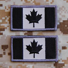 Canada Flag Canadian Armed Forces SWAT Patch Set Afghanistan Hook Backing