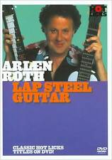 ARLEN ROTH - LAP STEEL GUITAR HOT LICKS NEW DVD