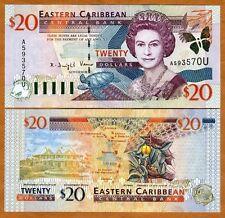 Eastern East Caribbean $20 (2000) Anguilla P-39u UNC