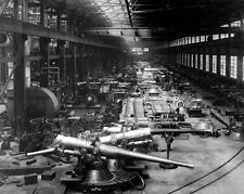 New 8x10 World War I Photo: Guns and Cannon at the Bethlehem Steel Company