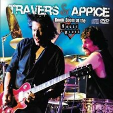 Boom Boom at the House of Blues [CD/DVD] [Slipcase] by Travers & Appice/Pat...