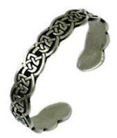 Celtic Knotwork Adjustable Pewter bracelet