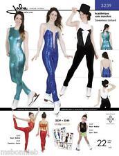 Jalie 3239 Long Leg Sleeveless Unitard w/Keyhole Back Sewing Pattern 22 Sizes