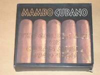 2 CD / MAMBO CUBANO / GOLDEN AGE CUBAN MUSIC 1940-60 / TRES BON ETAT