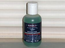 KIEHL'S Facial Fuel Energizing Face Wash, Men's Gel Cleanser 2.5 oz 75 ml SEALED
