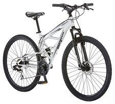 "29"" Men'S Bicycle Mountain Bike Disc Brakes 21 Speed Shimano Aluminum Suspension"
