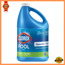 Swimming Pool Chlorine Algaecide Chemical 1 Gallon Clarifier, New