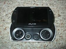 Sony PSP go 16 GB Piano Black Handheld System Console GREAT Playstation Portable
