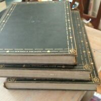 The Encyclopaedia Britannica 1926 13th Edition 3-Volume Book Set Supplementary