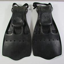 ScubaPro JetFin Scuba Snorkel Fins Size Large Black Vented Design