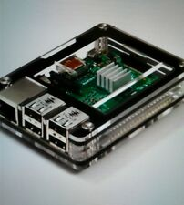Zebra Black Ice Case Kit - for Raspberry Pi 3,  Pi 2 and B+