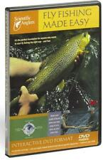 NEW $20 FLY FISHING MADE EASY BEGINNERS INSTRUCTIONAL DVD BY SCIENTIFIC ANGLERS
