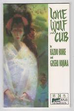 Lone Wolf and Cub #24 (Apr 1989 First Comics) Kojima Bill Sienkiewicz Prestige v
