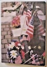 """Photo Album Patriot American Flag Holds 20 Pictures 4"""" X 6"""" See My Other Items"""