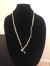 Fashion Jewlery  Necklace Beige Silver Dainish Design On Sale