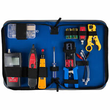 Advanced Network Ethernet LAN Install Tool Kit with LCD Cable Tester Hunter and