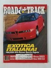 Road & Track May 1989 - Mercedes-Benz 190E - Lotus Esprit - Nissan 300ZX & 240SX