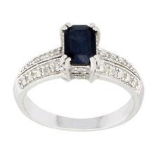 Anelli di lusso smeraldo oro bianchi diamante