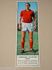 *+ GIORDANO COLAUSIG ROMA=FIGURINA=1966/67=ALBUM FIGURINE CALCIATORI TEMPO