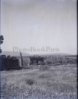 Algérie Tlemcen Ruines de Mansourah c1900, NEGATIF Photo Plaque Verre