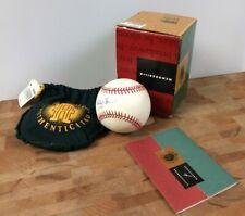Whitey Ford Signed Baseball Upper Deck COA and MIB