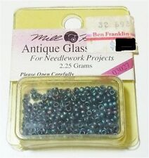 250 Mill Hill Antique Glass Beads Seed Round (11/0) 2.5mm #03027 Caspian Blue 2.